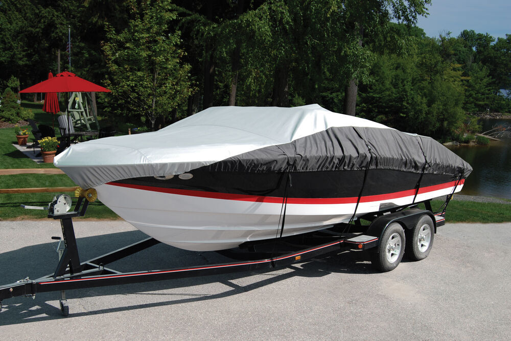 """Taylor Made Eclipse Inshore Fishing Boat Cover - 17' to 19' Long Boats - 90"""" Beam Vented 36970915"""