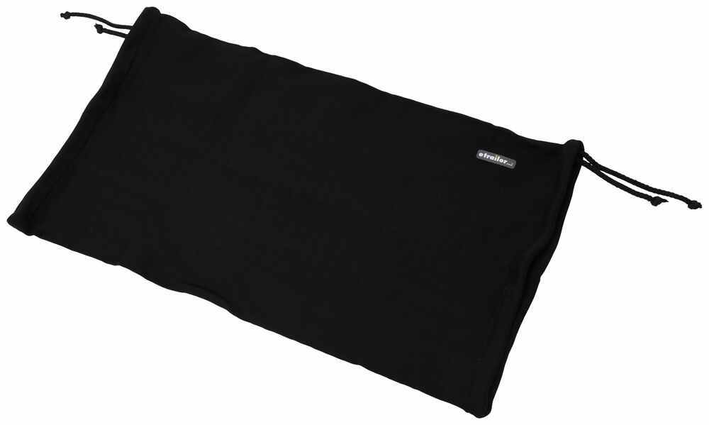 """Taylor Made Boat Fender Cover for up to 10-1/2"""" Diameter Fenders - Black Polyester - Qty 1 Bumper Covers 3699206R"""