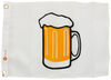 """Taylor Made Novelty Boat Flag - Beer Mug - 12"""" Tall x 18"""" Long - Nylon 12 Inch Tall 3699218"""