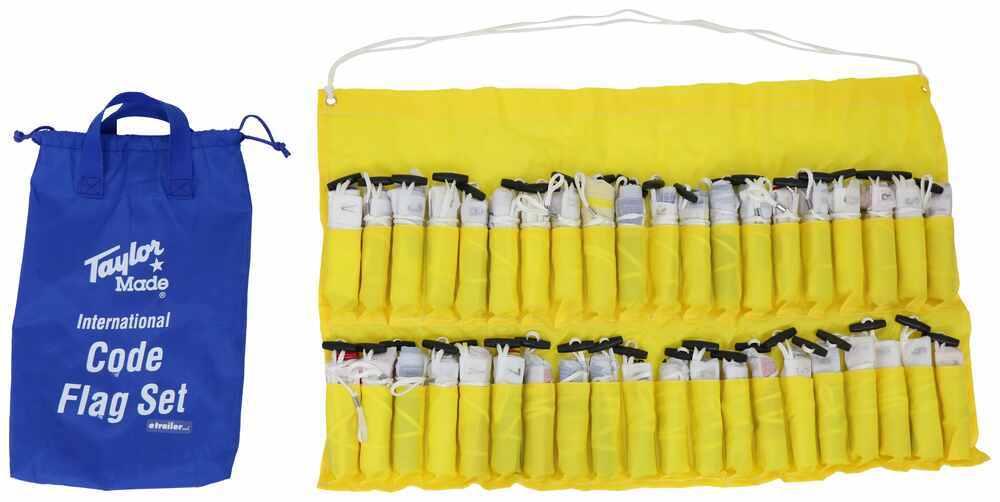 36993245 - International Code Set Taylor Made Boat Flags