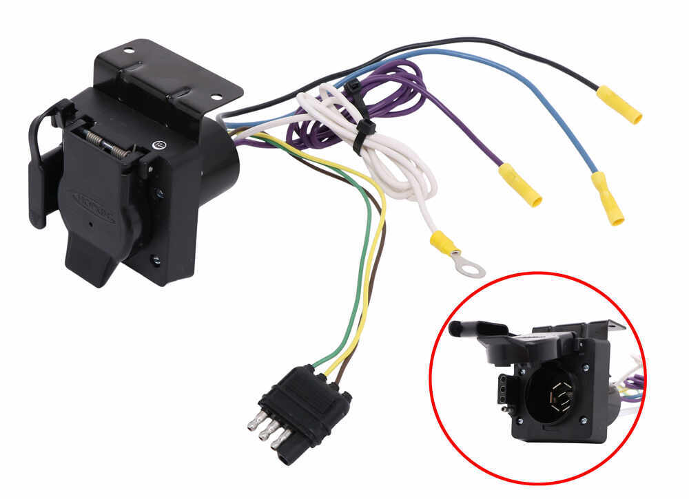 wiring diagram toyota mighty x adapter 4 pole to 7 pole and 4 pole hopkins wiring 37185  pole and 4 pole hopkins wiring 37185