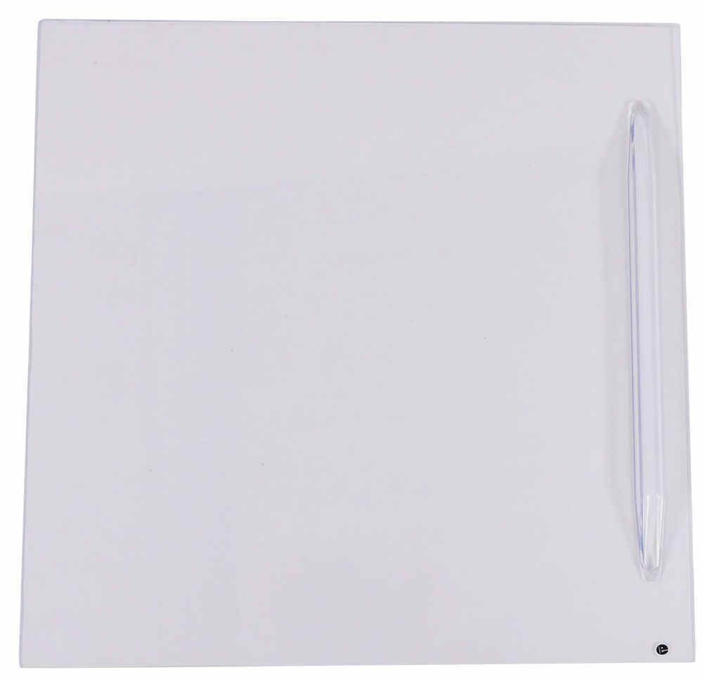 "Screen Door Slider - 12"" - Flat - Clear Slides 37211195"