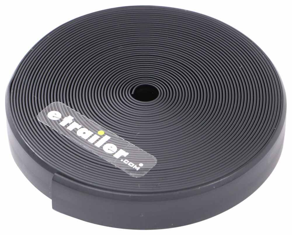 Premium Narrow RV Vinyl Insert Trim Molding - 25' - Black 25 Feet Long 37211235