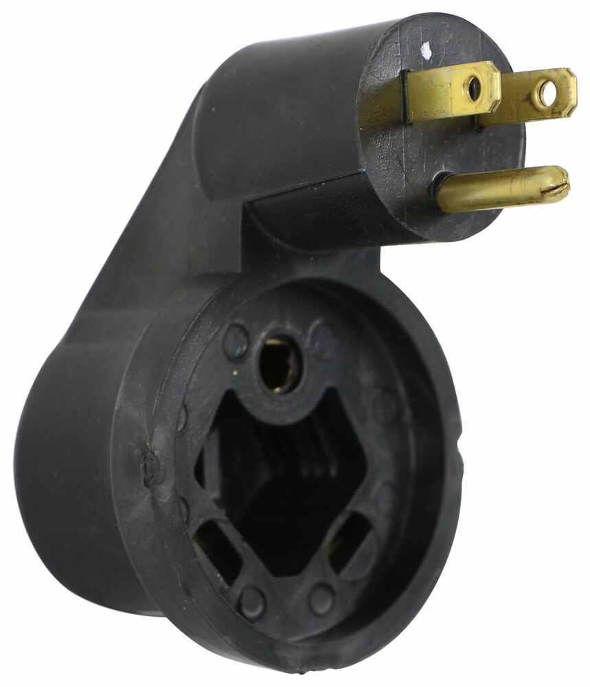 JR Products RV Plug Adapters - 372M-3022-A