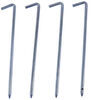 """AceCamp Tent Stakes - Steel - 9-1/2"""" Long - Qty 4 Tent Stakes 3772743"""