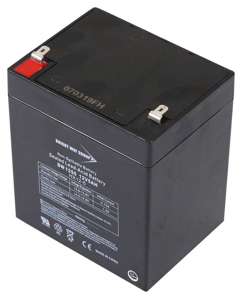 3801250 - 12V Battery Bright Way Accessories and Parts