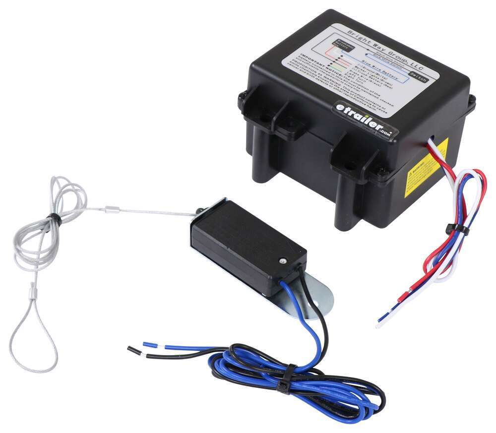 Bright Way Trailer Breakaway Kit with 0.5-Amp Charger and 5 Ah Battery 5 Amp-Hour 3802339