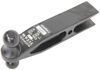 reese heavy duty receiver hitch weld-on super titan 3000 trailer with 3 inch opening 20 000 lbs.