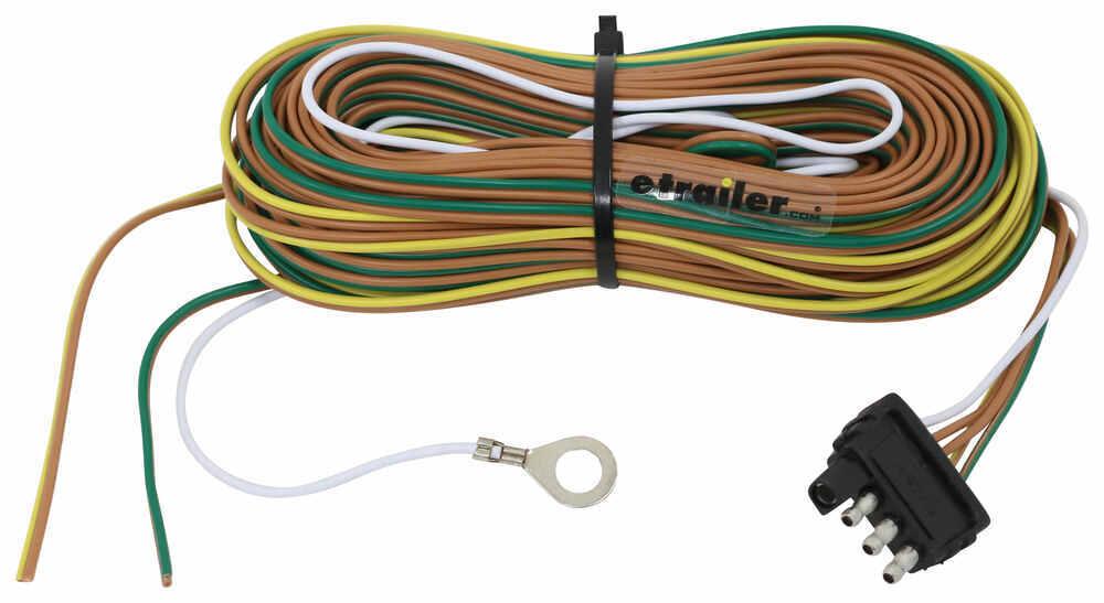 35 Ft 4-Way Trailer Wiring Harness - Wishbone Style - 42