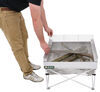 389CB001-TRI - Campfire Grill,Portable Fire Pit,Portable Grill Fireside Outdoor Fire Pits,Grills