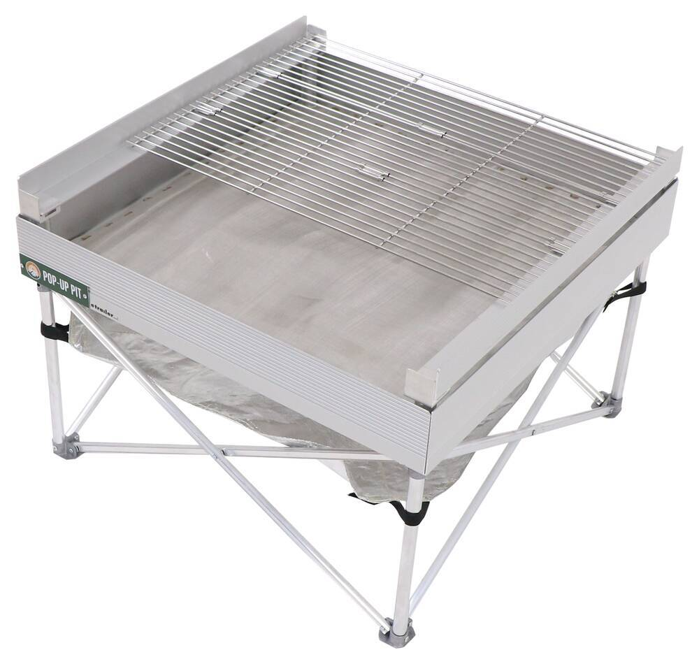Portable Grills and Fire Pits 389CB001-TRI - Campfire Grill,Portable Fire Pit,Portable Grill - Fireside Outdoor