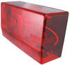 """Wesbar Tail Light for Trailers over 80"""" Wide - Submersible - 8 Function - Driver Side Red 403025"""