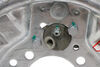 """Demco Hydraulic Drum Brake Assembly - Free Backing - Galvanized - 10"""" - Left Hand - 3,500 lbs 10 x 2-1/4 Inch Drum 40716"""