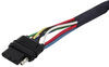 Hopkins Plug-In Simple Wiring Harness for Factory Tow Package - 4-Pole Flat Trailer Connector 4 Flat 41155