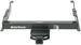 "Draw-Tite Ultra Frame Trailer Hitch Receiver - Custom Fit - Class IV - 2"""