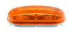 Peterson Clearance and Side Marker Trailer Light - 2 Bulbs - Oblong - Amber Lens Non-Submersible Lights 425200