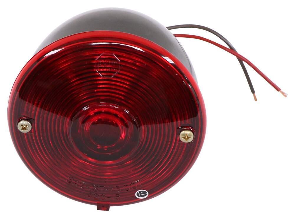 [DIAGRAM_38DE]  Peterson Trailer Tail Light - Stop, Turn, Tail - Incandescent - Round - Red  Lens - Passenger Side Peterson Trailer Lights 431800 | Peterson Trailer Wiring Diagram |  | etrailer.com