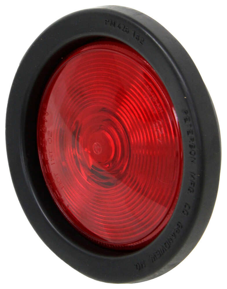 peterson trailer tail light w/ grommet and plug  stop turn