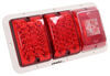 Trailer Lights 47-84-530 - Red and White - Bargman