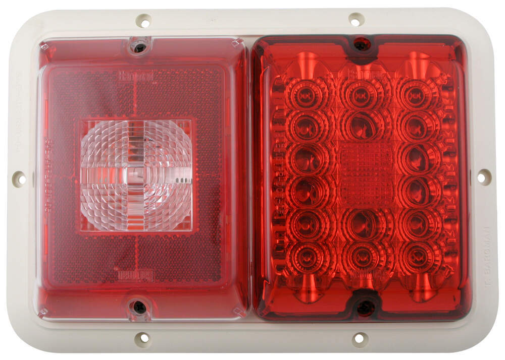 Trailer Lights 47-84-540 - 10L x 7W Inch - Bargman