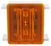 Bargman LED Upgrade Kit for 86 Series Wraparound Clearance/Side Marker Lights - Amber Surface Mount 47-86-412