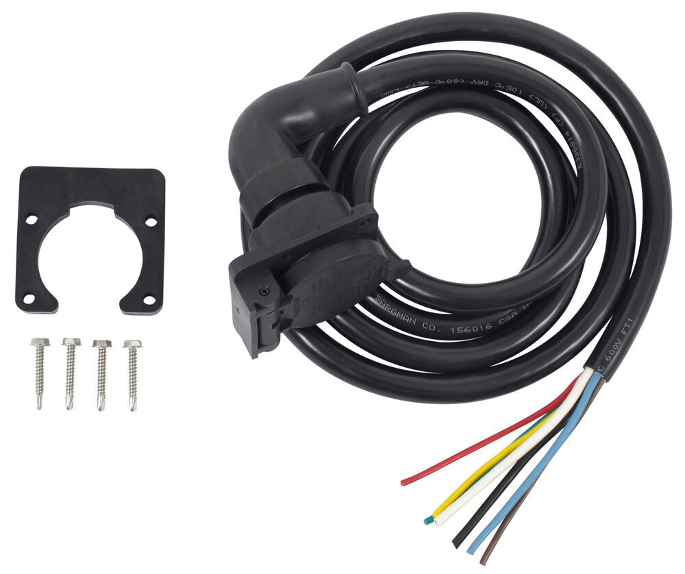 Bargman Universal Fit Custom Fit Vehicle Wiring - 51-97-407