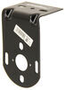Steel Mounting Bracket for Peterson Stud Mount Tail Lights - Surface Mount - Black Powder Coat Black 510-9