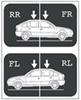Replacement Decal Set for Thule TH758 Complete Roof System for Saab 9-3 Decals 515-0041