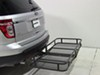 52018 - Steel Surco Products Hitch Cargo Carrier on 2013 Ford Explorer