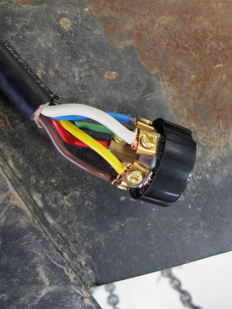 7 Way Connector Trailer End Bargman Wiring 54 77 003