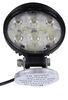 Wesbar LED Trailer Utility Light - Weatherproof - Magnetic Base - 650 Lumens - Round - Clear Lens Pedestal Mount 54209-017