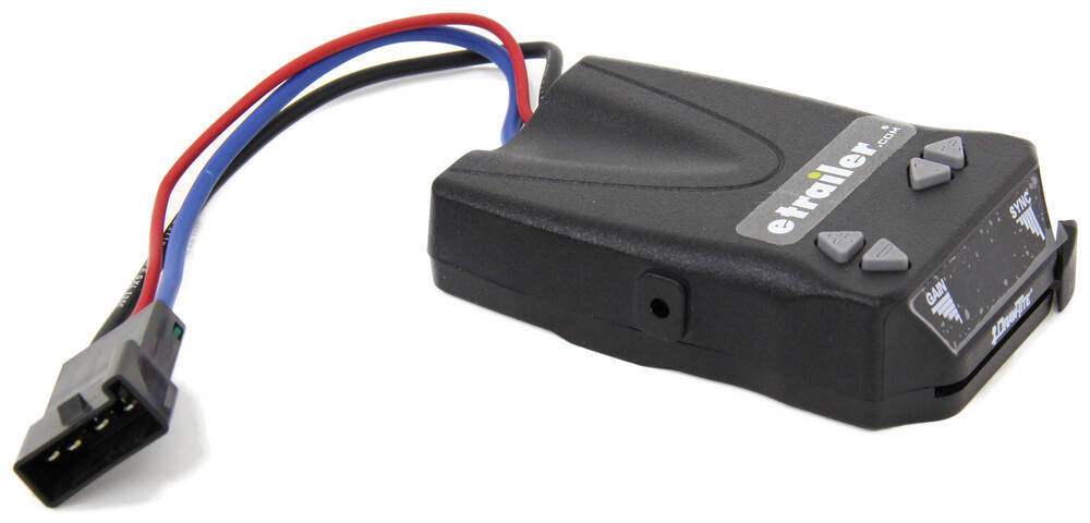 Draw-Tite Activator IV Trailer Brake Controller - 1 to 4 Axles - Time Delayed Dash Mount 5504
