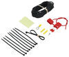 Accessories and Parts 55151 - Power Wire Installation Kit - Curt