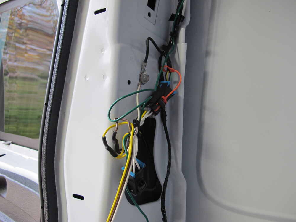 [DIAGRAM_38DE]  Curt T-Connector Vehicle Wiring Harness with 4-Pole Flat Trailer Connector  Curt Custom Fit Vehicle Wiring 55540 | Curt Trailer Wiring Chevrolet Express Van |  | etrailer.com