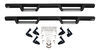 """Westin HDX Nerf Bars with Drop Steps - 4"""" Wide - Black Powder Coated Stainless Steel Stainless Steel 56-132552"""