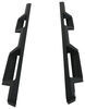 Westin HDX Nerf Bars with Drop Steps - Textured Black Steel 56-12775
