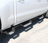westin nerf bars - running boards rectangle hdx with drop steps 4 inch black powder coated stainless steel wheel-2-wheel
