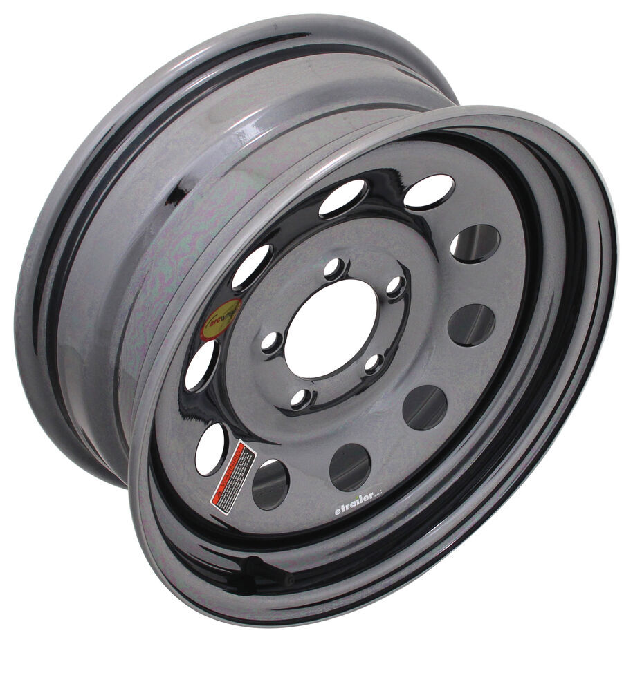 Trailer Tires and Wheels 560545MBPVD - 5 on 4-1/2 Inch - Taskmaster