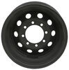 taskmaster trailer tires and wheels wheel only dark matter steel modular - 16 inch x 6 8 on 6-1/2 matte black esr finish