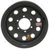 taskmaster trailer tires and wheels wheel only 15 inch dark matter steel modular - x 6 on 5-1/2 matte black esr finish