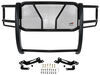 Westin HDX Grille Guard with Punch Plate - Black Powder Coated Steel Black 57-3795