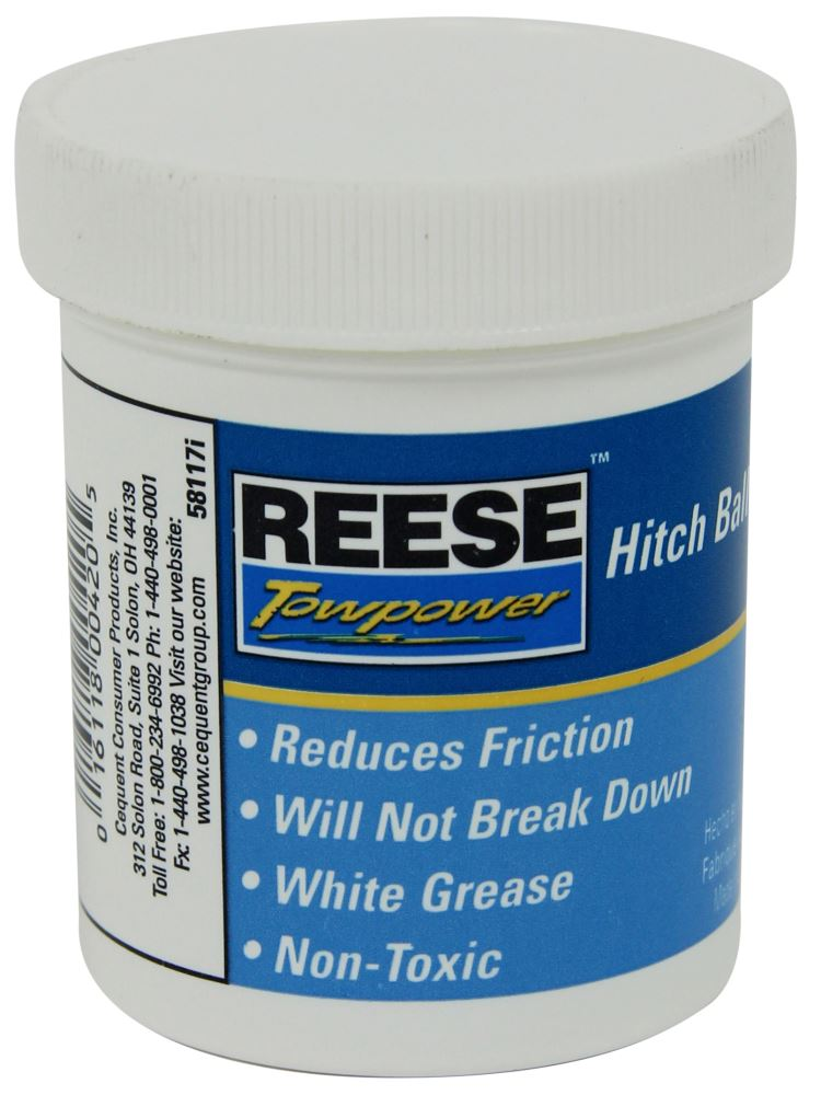 Reese Hitch Ball and Coupler Grease Accessories and Parts - 58117