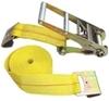 "Erickson Ratchet Tie-Down Strap w/ Flat Hooks - 3"" x 30' - 5,000 lbs 2-1/8 - 3 Inch Wide 58514"