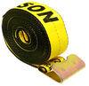 "Erickson Ratchet Tie-Down Strap w/ Flat Hooks - 3"" x 30' - 5,000 lbs Flat Hooks 58514"