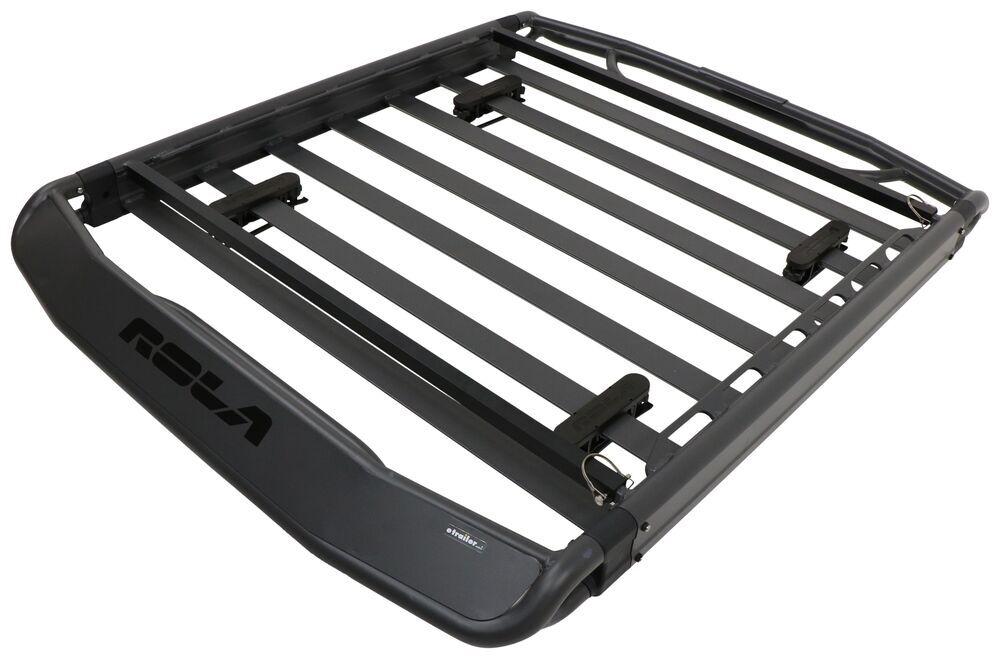 "Rola Atlas Roof Cargo Basket - Aluminum - 56"" Long x 43-1/2"" Wide x 4"" Deep - 160 lbs Large Capacity 59043"