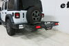 59502 - 22 Inch Wide Rola Hitch Cargo Carrier on 2018 Jeep JL Wrangler Unlimited