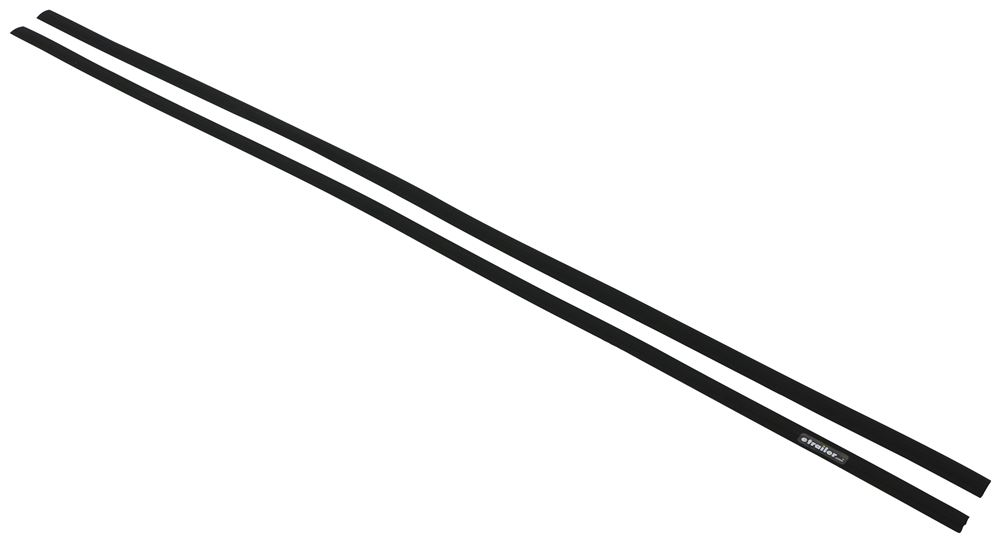 """Replacement Rubber Buffer Strips for Rola Roof Rack Crossbars - 55"""" - Qty 2 Buffer Strips 59749"""