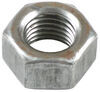abs fasteners accessories and parts hardware nuts mounting nut for 7 inch 10 brake assemblies - 7/16 diameter zinc plated