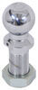 """Pintle Hitch Ball with 2"""" Diameter, 10,000 lbs GTW - Chrome Chrome-Plated Steel 63018"""