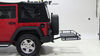 Reese Hitch Cargo Carrier - 63153 on 2014 Jeep Wrangler